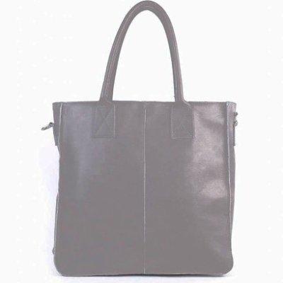 Leren-Shopper-Lara-taupe -grote-lederen-shopper-rits-binnenvakken-dames-shopper-zacht-leer-online-kopen