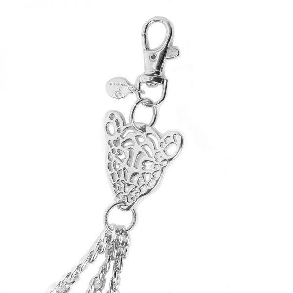 Zilveren Riem ketting Chain My Tiger zilver kettingen voor riemen riemketting tijger bedel riem belt accessoires kopen