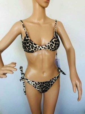 Bikini Leopard panterprint bikinis dames badkleding sexy two piece snakeprint kopen bestellen kopen