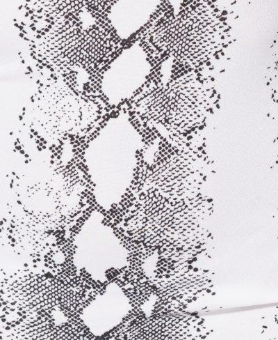 Bodycon Jurk Snake wit slangenprint jurk straploss snake-print bandeau dames jurken kopen festival fashion off shoulder detail