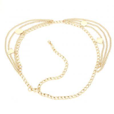 Ketting Riem Layers Gold goud gouden riemkettingen kettingriemen riemen dames bedels trends kopen