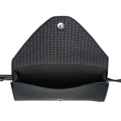 Zwarte Beltbag Trendy Studs zwart Heuptas riemtas zilveren studs festival bags tassen online kopen in