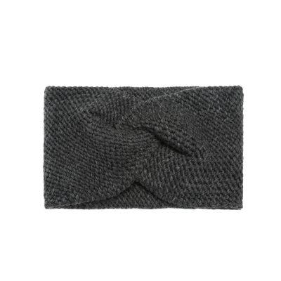 Haarband-Soft Winter-donker grijs grijze wollen-dames-haarbanden-musthave-fashion-dames-haar-accessoires-online-kopen-vrouwen