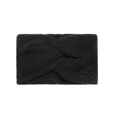Haarband-Soft Winter-zwart zwarte-wollen-dames-haarbanden-musthave-fashion-dames-haar-accessoires-online-kopen-vrouwen