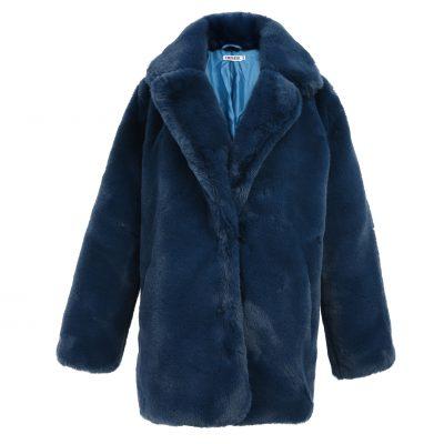 Bontjas Warm Winter blauw blauwe kobalt Lange-Teddy-Coat-jas-jassen -wollen-winter-jassen-online-dikke-warm-kopen-bestellen-online-goedkoop