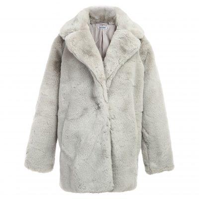 Bontjas Warm Winter grijs grijze Lange-Teddy-Coat-jas-jassen -wollen-winter-jassen-online-dikke-warm-kopen-bestellen-online-goedkoop