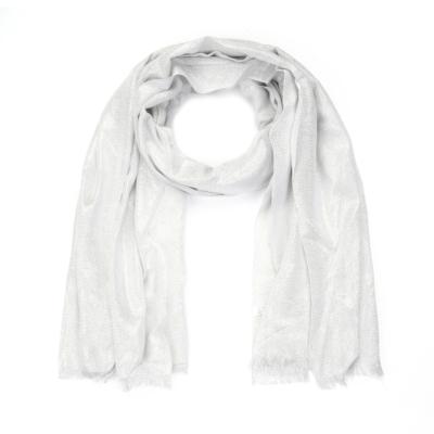 Sjaal-Pretty-Sparkle-zilver zilveren-glitter-sjaals-polyester-dames-lange-sjaals-glans-kopen-bestellen-trendy-sh
