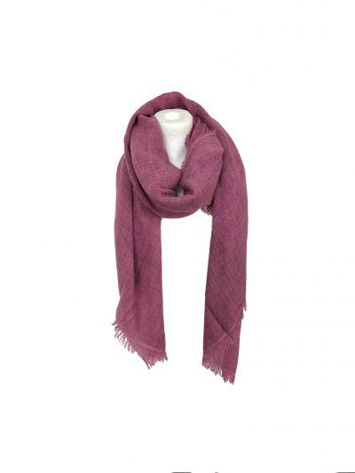 Sjaal Uni Vibes paars paarse roze sjaals viscose acryll wollen sjaals online kopen bestellen dames omslagdoeken