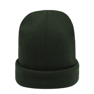 Muts Beanie Simple Olijf groen groene mutsen beanies winter accessoires kopen bestellen