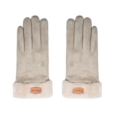 Handschoenen Always Warm beige creme schaapswol warme dikke handschoenen dames gloves musthaves winteraccessoires kopen