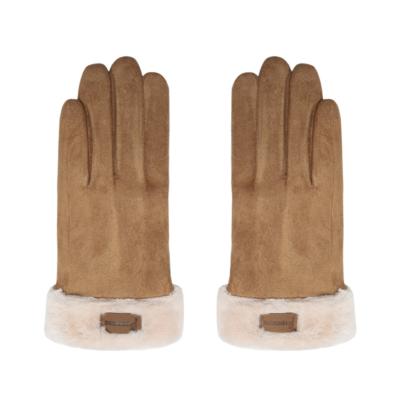 Handschoenen Always Warm bruin bruine schaapswol warme dikke handschoenen dames gloves musthaves winteraccessoires kopen