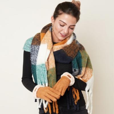 Handschoenen Always Warm bruin bruine schaapswol warme dikke handschoenen dames gloves musthaves winteraccessoires kopen trends