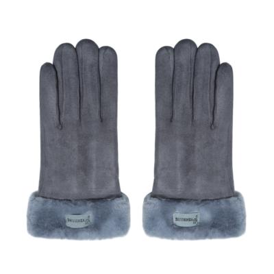 Handschoenen Always Warm grijs grijze schaapswol warme dikke handschoenen dames gloves musthaves winteraccessoires kopen