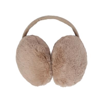 Oorwarmers Circles beige nude creme oorwarmer winteraccessoires dames kopen bestellen