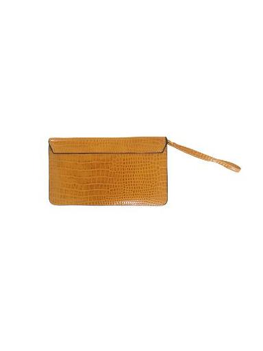 Portemonnee-Clutch-Bag-Croco-geel-gele-dames-schoudertasjes-portemonnees-polsband-kroko-print-giuliano-achter-e1568059302719