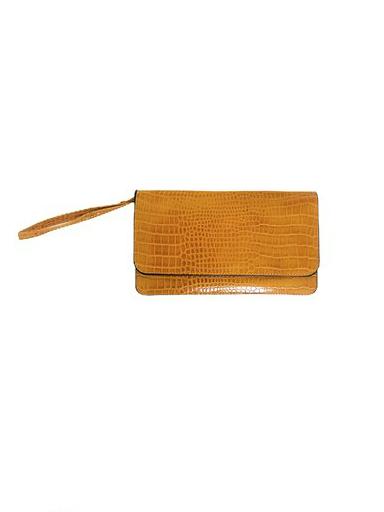 Portemonnee-Clutch-Bag-Croco-geel-gele-dames-schoudertasjes-portemonnees-polsband-kroko-print-giuliano-e1568059257621 (1)