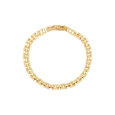 Armband Square Chains goud gouden dames armbanden schakelarmband rvs bracelet trendy kopen