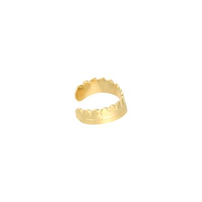 EarCuff Victoria goud gouden dames oorbellen earcuffs trendy kopen bestellen