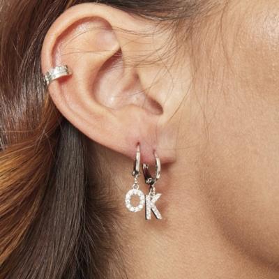 EarCuff Victoria zilver zilveren dames oorbellen earcuffs trendy kopen bestellen details