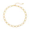 Ketting Chunky Chains goud gouden dames kettingen schakelketting rvs neckage trendy kopen