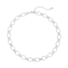 Ketting Chunky Chains zilver zilveren dames kettingen schakelketting rvs neckage trendy kopen