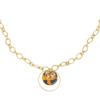 Ketting Explorer Chains goud gouden dames kettingen schakelketting met bedels rvs neckage trendy bestellen