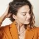 Oorbellen Explorer goud gouden dames oorbellen met bedels rvs earrings trendy bestellen kopen details