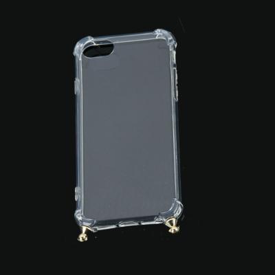 Doorzichtige Iphone Hoesje Simple losse telefoon covers voor oogjes voor koord of ketting iphone kopen bestellen trends