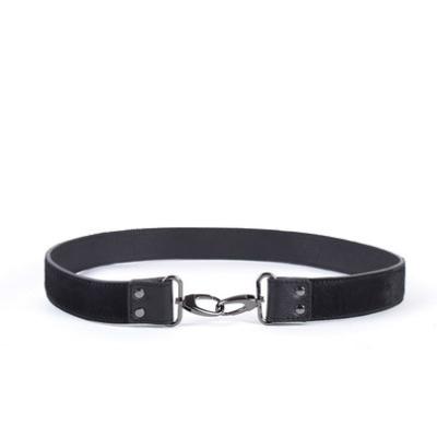 Leren Schouderband Koevacht zwart zwarte losse schouderbanden tassen kopen bestellen