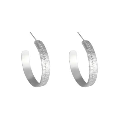 Oorbellen My Lily zilver zilveren dames oorbellen sieraden rvs kopen bestellen grote creolen trendy trends