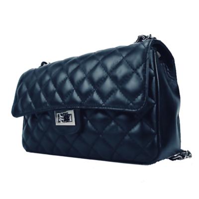 Leren-Tas-Coco-blauw blauwe-grote-leren-tassen-look-a-like-flap-stiksels-goud-beslag-hardware-musthave-itbags-look-a-like- (1)