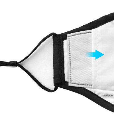 PM2.5 Mondkap Filters voor mondmaskers inlays inlay filters mondkapfilters kopen 5 lagen bescherming corona bestellen