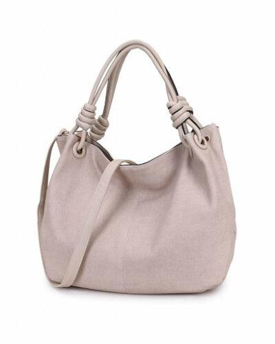 Handtas-Spiral-beige creme-kunstleder-tassen-dames-tas-itbags-look-a-like-bags-musthave-dames-tassen-goedkope-guiliano-online-