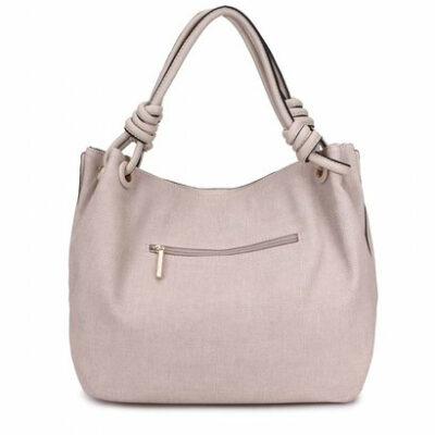 Handtas-Spiral-beige creme-kunstleder-tassen-dames-tas-itbags-look-a-like-bags-musthave-dames-tassen-goedkope-guiliano-online- achter