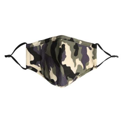 Mondkapje Army grijs grijze blauw camourflage mannen jongens mondkapjes mondmaskers bescherming corona verplicht kopen bestellen trendy