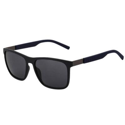 Zonnebril Strict Lady blauw blauwe strak montuur trendy fashion dames zonnebrillen goedkope bril