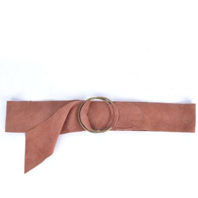 Suede Riem Zilveren Gesp roze pink brede suede leren riemen zilver gesp kopen bestellen