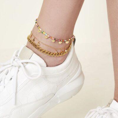 Enkelbandje Bold Chain goud gouden kopen