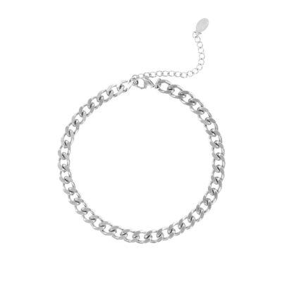 Enkelbandje Bold Chain zilveren zilver kopen