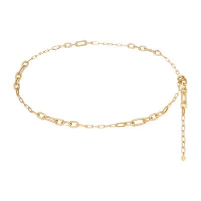 Kettingriem Connected Chain goud gouden riem