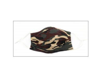 Mondkapje Camourflage taupe mondkapjes mannen