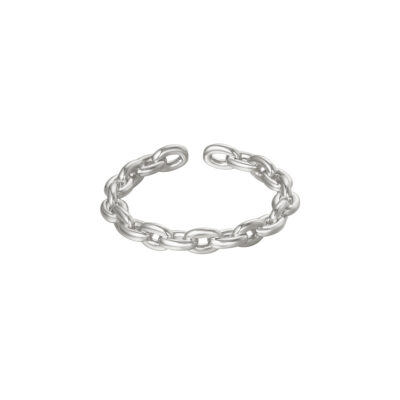 RIng Connected Chains zilver zilveren ring