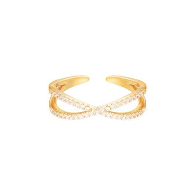 RIng Ruler goud gouden open ringen kopen