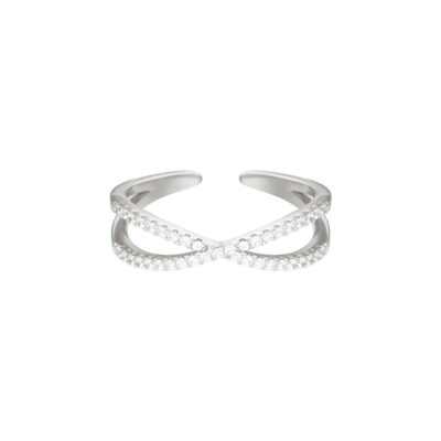 RIng Ruler zilver zilveren open ringen kopen