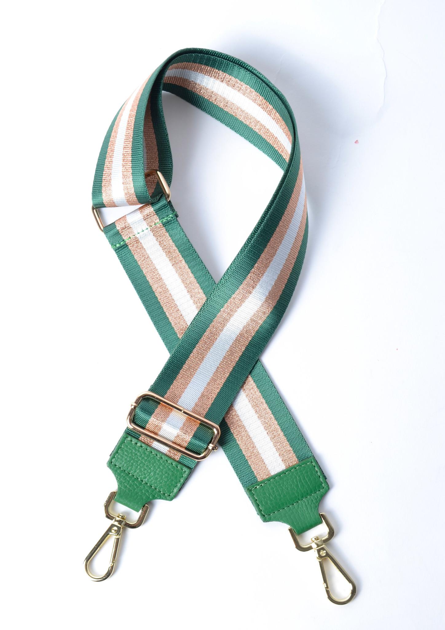 Tassenhengsel Special Lines groen groene goud leer leren tassenhengsels losse hengsels kopen bestellen bagstraps