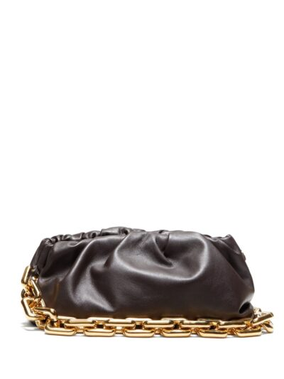 Tassen Hengsel Big Gold Chain goud gouden brede losse schakel ketting hengsel look a like pouche kopen bestellen