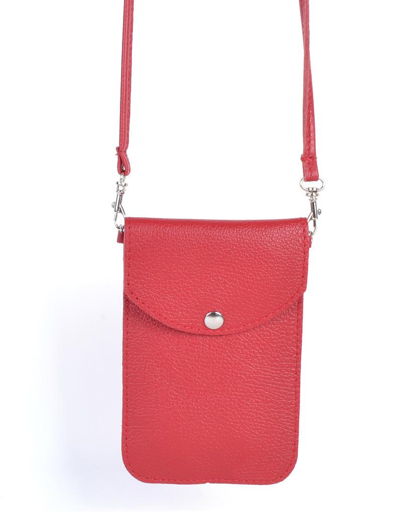 Leren Telefoontasje Simpel rood rode schoudertasjes leder handige giuliano tas kopen bestellen