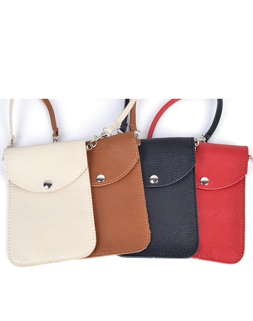 Leren Telefoontasje Simpel schoudertasjes leder handige giuliano tas kopen bestellen lederen-schoudertasje-lang-1-vak