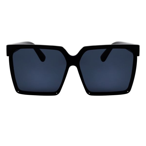 Zonnebril Like a Boss zwart zwarte stoere chique dames zonnebrillen trends fashion yehwang kopen bestellen voor