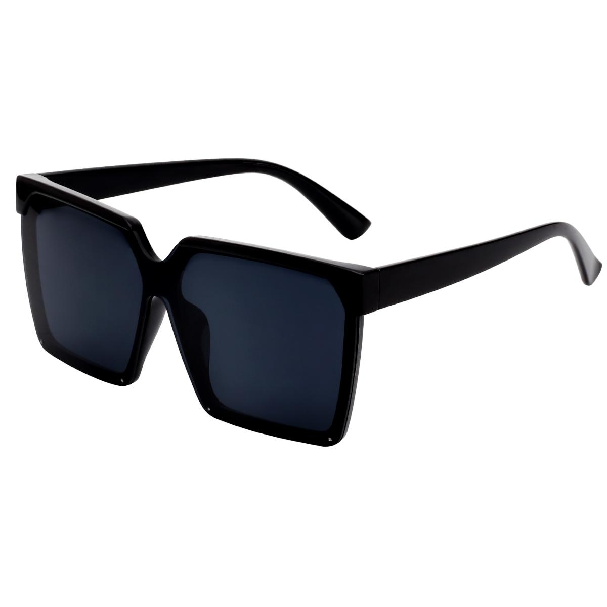 Zonnebril Like a Boss zwart zwarte stoere chique dames zonnebrillen trends fashion yehwang kopen bestellen